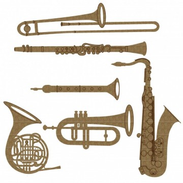 6 Instrumenter - Chipboard
