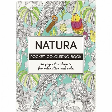 Natura - Pocket colouring book