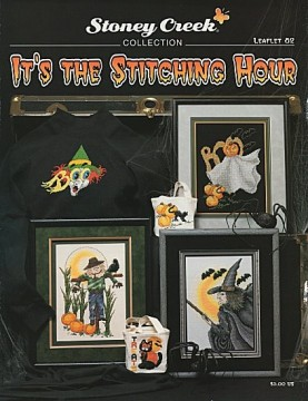 Its the stitching hour - Mønsterbok