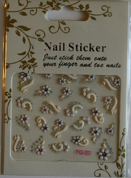 Nailstickers - FQ-22