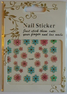 Nailstickers - YJ-07