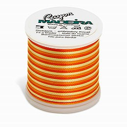 Farge 2053 - Spraglete Orange