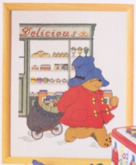 12-5485 Paddington Bear - Broderipakke