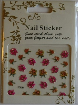 Nailstickers - YJ-25