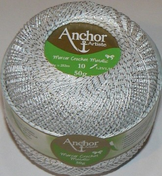 Anchor Mercer Crochet - Sølv