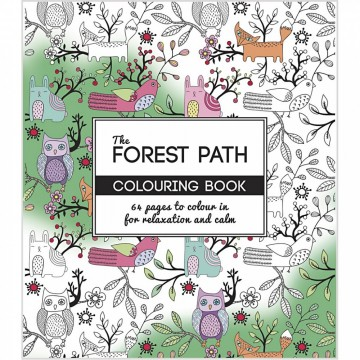 Forest Path - Stor Fargeleggingsbok