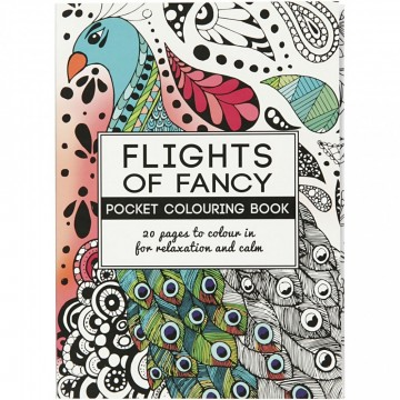 Flights of Fancy - Fargeleggingsbok